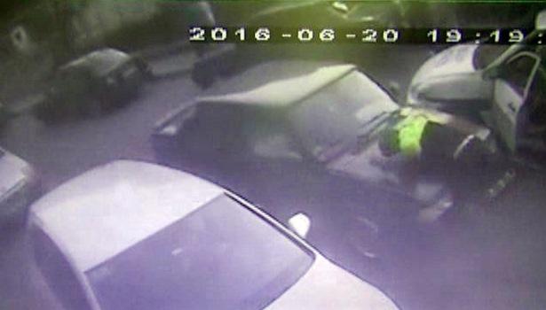 Polise çarpan sürücüyü serbest bırakıldı