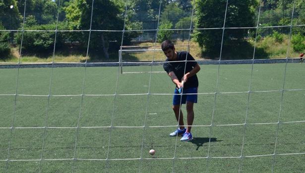 Milli takım kampına seçilmenin heyecanını yaşıyor