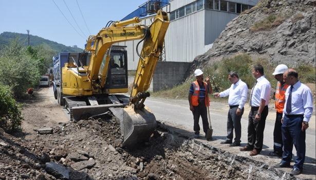 Başkan Uysal, çalışmaları denetledi
