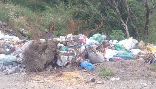 CHP'liler çöp sorununu yerinde incelediler