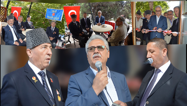 Türkiye Muharip Gaziler Derneği Ereğli Şubesi yeni yerinde