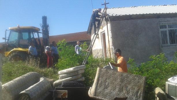 Kandilli Belediyesi'nin bina yıkımına tepki
