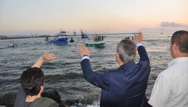 Demokrasi nöbetine Balıkçılardan da destek