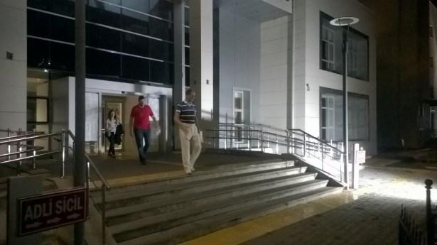 Adliyeye sevk edilen 8 kişiden 3´ü tutuklandı. 5´i serbest bırakıldı