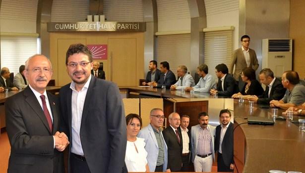 Alevi Kültür Derneği'nden CHP Genel Merkezine ziyaret