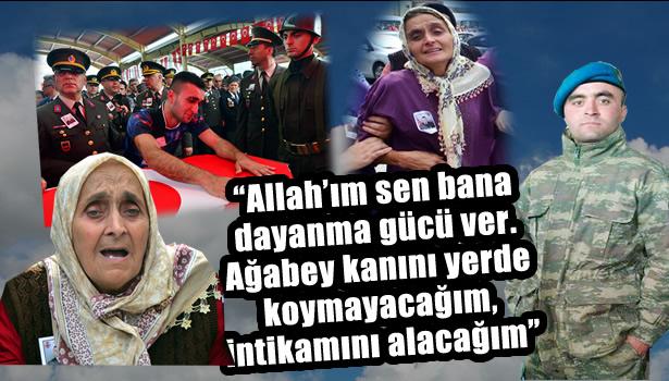 Zonguldak şehit Uzman Onbaşı Kerim Keçeci´ye ağlıyor