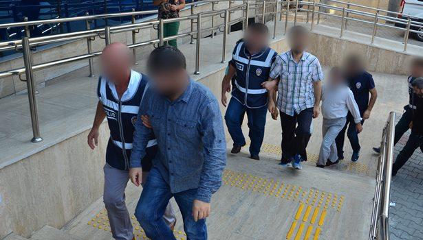 FETÖ/PDY soruşturması kapsamında 10 şüpheli adliyeye getirildi