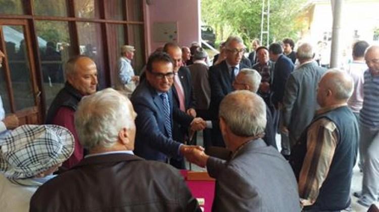 Milletvekili Demirtaş,Bayram ziyaretlerine İkinci gününde de devam ediyor