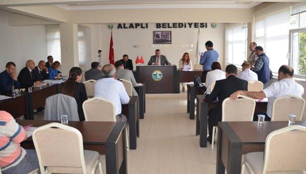 Alaplı Belediye Meclisi'nin Ekim ayı olağan toplantısı tamamlandı