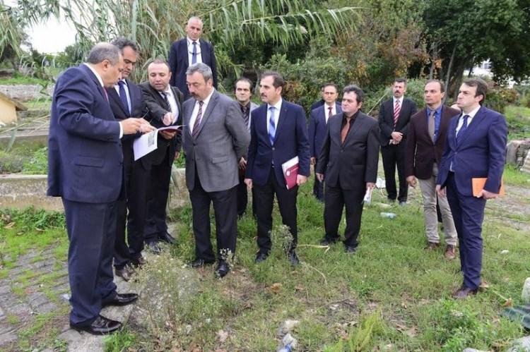 Vali Kaban 15 Temmuz Şehitler Kampüsü'nde incelemelerde bulundu
