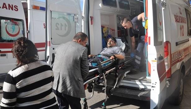 Sobadan çıkan kıvılcım evi kül etti: 2 yaralı