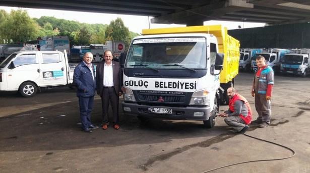 Gülüç Belediyesi 2,5 yılda araç filosunu genişletti