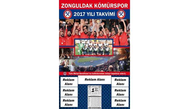Zonguldak Kömürspor takvimi hazırlanıyor
