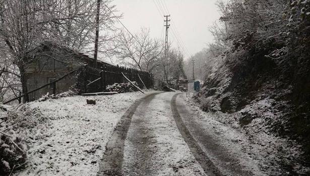 İlk kar düştü