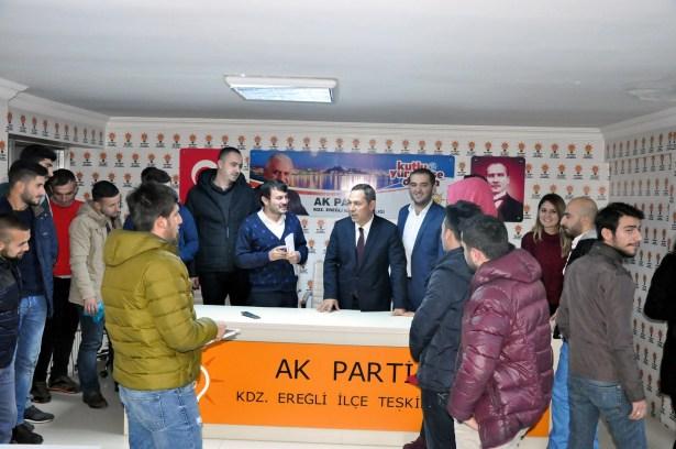 Başkan Uysal, AK gençlerle buluştu