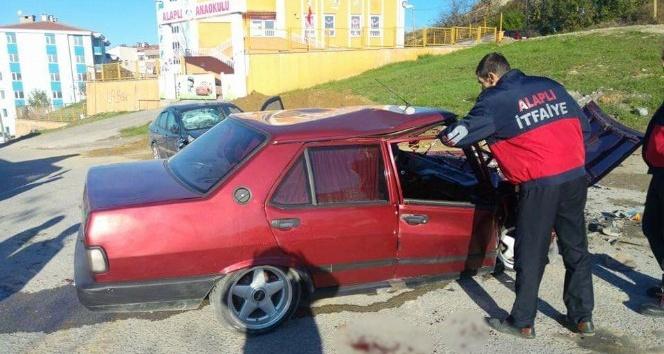 KPSS'ye giderken kaza yaptılar: 4 yaralı