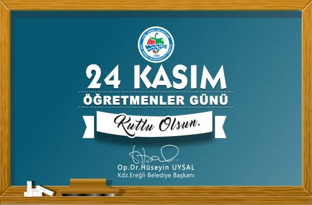 Başkan Uysal'dan öğretmenler günü mesajı..