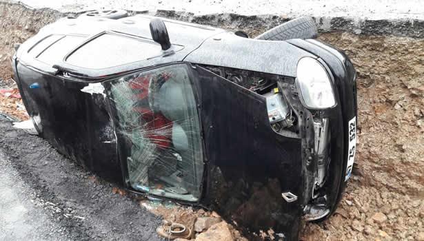 Zonguldak - Kdz.Ereğli karayolunda kaza
