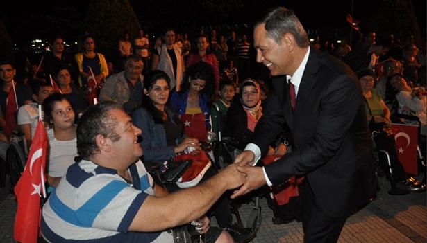 Başkan Uysal Dünya Engeliler Gününü kutladı