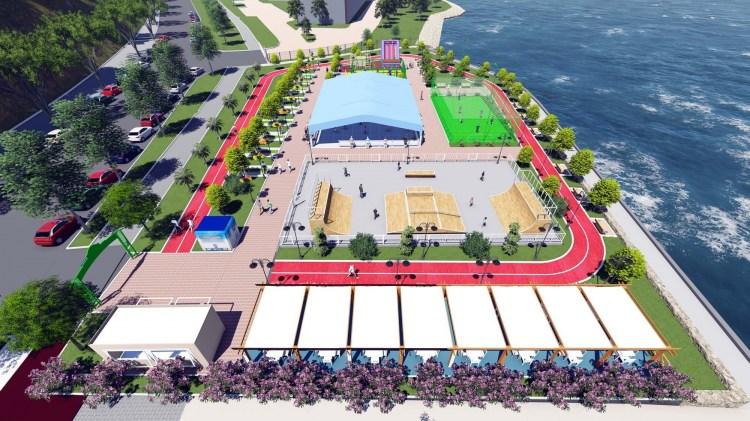 Kdz. Ereğli'ye spor parkı yapılıyor