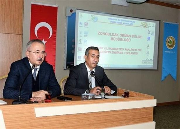 2016 Yılı kadastro faaliyetleri değerlendirme toplantısı düzenlendi