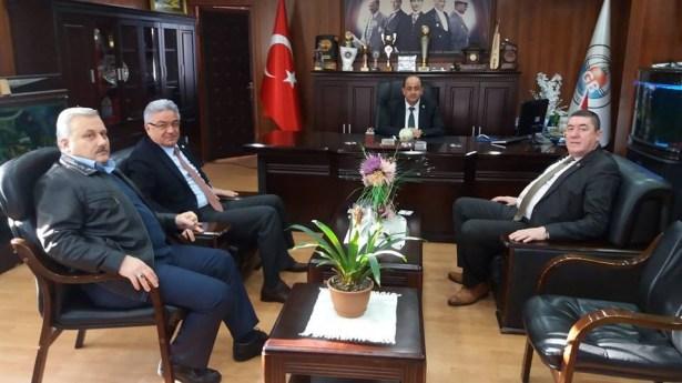 Turpçu ve Tekin'den Başkan Demirtaş'a ziyaret