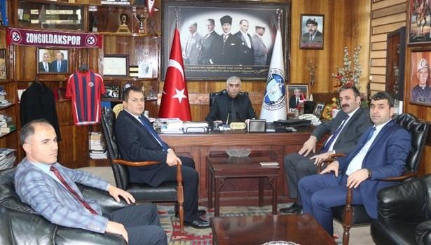 Emniyet Müdürü Turanlı'dan GMİS'e başsağlığı ziyareti