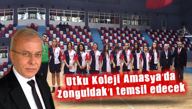 Utku Koleji Amasya'da Zonguldak'ı temsil edecek