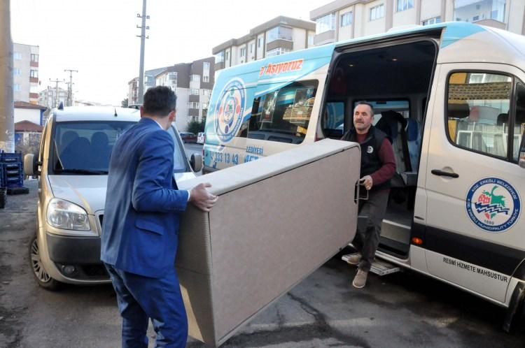 Başkan Uysal'dan ihtiyaç sahibi ailelere yardım eli…