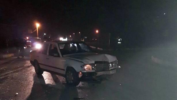 2 otomobilin çarpıştığı trafik kazasında 2 kişi yaralandı