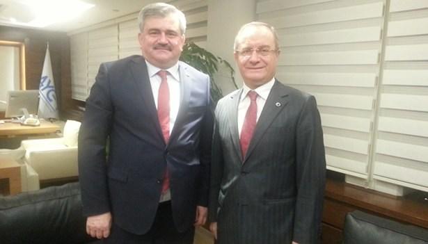 Çaturoğlu; alt yapı yatırımları Genel Müdürü Çıtak'ı ziyaret etti