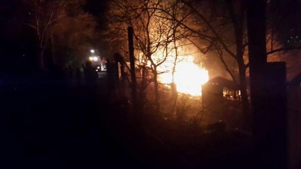 Balı Tay çiftliğinde yangın