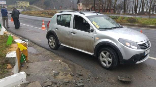 Ereğli´de meydana gelen kazada, biri bebek 6 kişi yaralandı