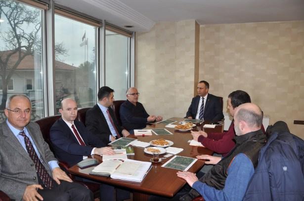 Sera OSB ile ilgili toplantı gerçekleşti