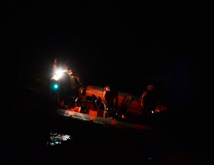 Denize atladığı iddia edilen kadın için arama çalışması başlatıldı