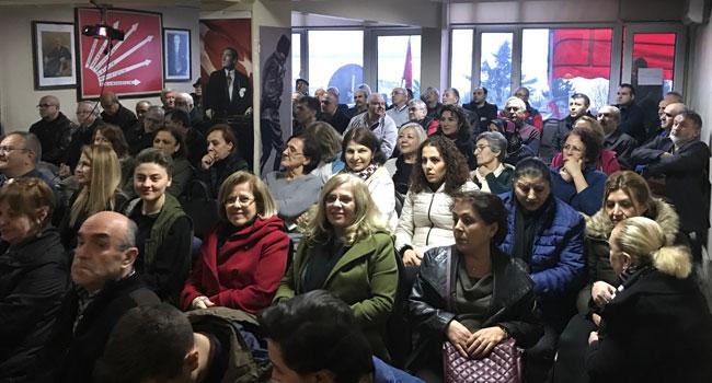 CHP'den partililere bilgilendirme toplantısı