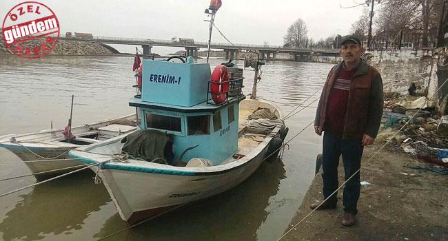 Mahsur kalan Balıkçının feryadı...