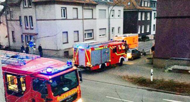 Kahraman Türk 6 Alman'ı yangından kurtardı