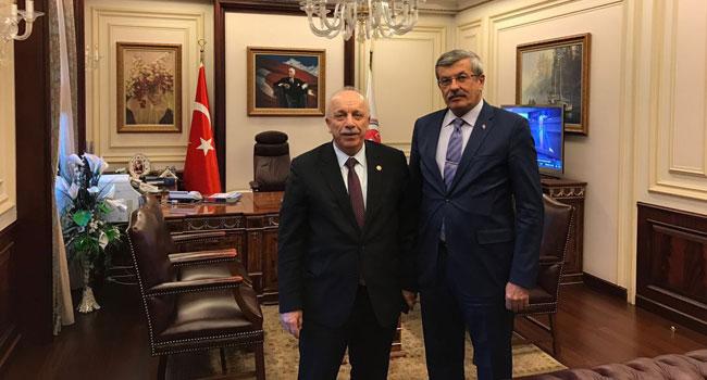 Özbakır, Müsteşar İpek ile görüştü