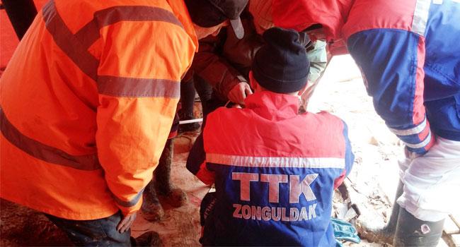 'Kuyu' yu TTK ekibi kurtardı
