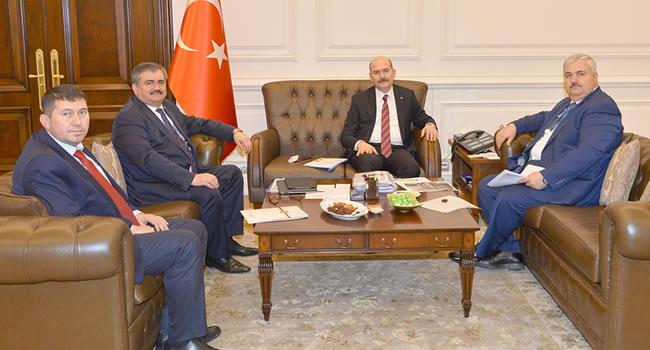 Çaturoğlu, Bakan Soylu'ya talepleri iletti