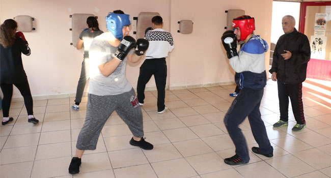Genç eldivenler Türkiye şampiyonasına hazırlanıyor