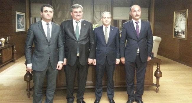 Çaturoğlu, Bakanlıklar ile Yatırımları görüştü