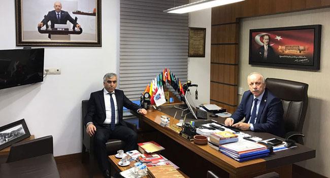 Demirci'den Özbakır'a ziyaret