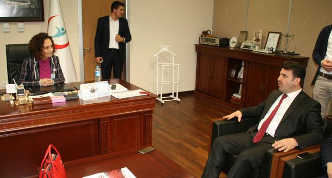 Çakır'dan Devlet Hastanesi'ne ziyaret