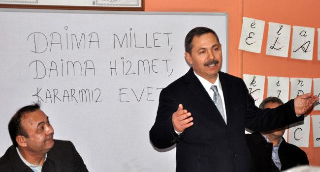 Başkan Uysal, Kıyıcak ve Göktepe'deydi