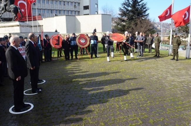 Şehitler, Zonguldak'ta törenle anıldı