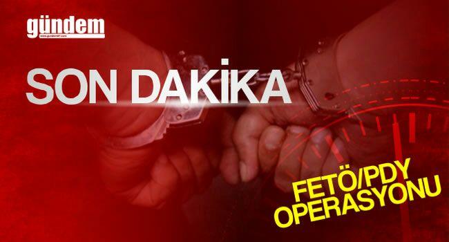 13 kişi gözaltında…