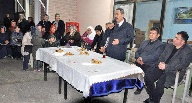 Başkan Uysal, Kocaali ve Uzunçayır'daydı