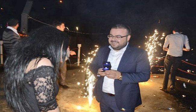 Düğüne gitti, evlenme teklifi aldı